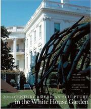 Cover of: 20th-century American sculpture in the White House garden | David Finn
