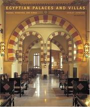Cover of: Egyptian palaces and villas | Shirley Johnston