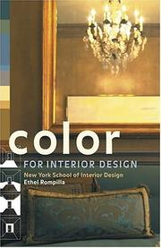 Cover of: Color for Interior Design | Ethel Rompilla