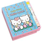 Hello Kitty Hello Love Note Cards in a Slipcase with Drawer