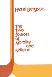 Cover of: Deux sources de la morale et de la religion