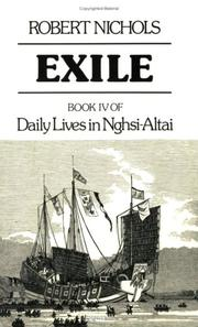 Cover of: Exile | Robert Nichols