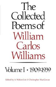 Cover of: The collected poems of William Carlos Williams