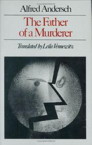 Cover of: The father of a murderer