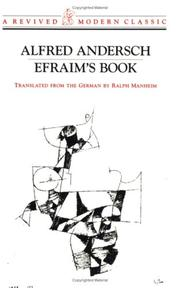 Cover of: Efraim