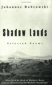 Shadow lands by Bobrowski, Johannes