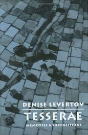 Cover of: Tesserae | Denise Levertov