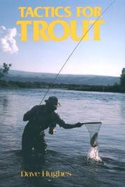 Cover of: Tactics for trout