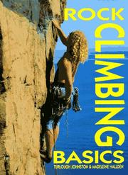 Cover of: Rock climbing basics