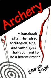 Cover of: Archery