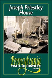 Cover of: Joseph Priestley House | Alison Duncan Hirsch