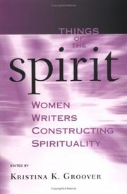Cover of: Things Of The Spirit