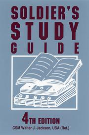 Cover of: Soldier's Study Guide: A Guide to Prepare for Promotion Boards and Advancement (Soldier's Study Guide: A Guide to Promotion Boards & Advancement)