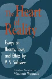 Cover of: The Heart of Reality