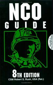 Cover of: NCO Guide (Nco Guide) | Robert S. Rush