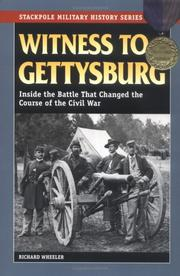 Cover of: Witness to Gettysburg