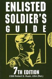 Cover of: Enlisted Soldier's Guide