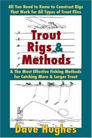 Cover of: Trout Rigs & Methods