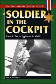 Cover of: A Soldier in the Cockpit | Ron Pottinger