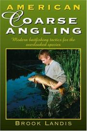 Cover of: American Coarse Angling | Brook Landis