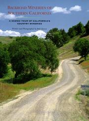 Cover of: Backroad wineries of Southern California