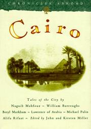 Cover of: Cairo | edited by John and Kirsten Miller.