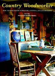 Cover of: Country woodworker