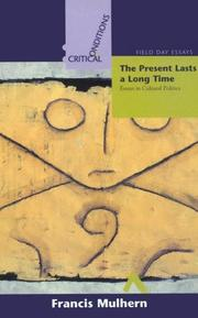 Cover of: The present lasts a long time