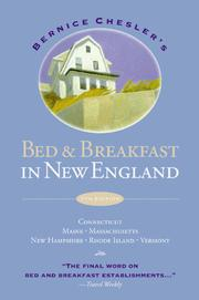 Cover of: Bed & breakfast in New England