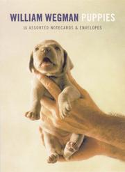 Cover of: Wegman Puppies Little Notes