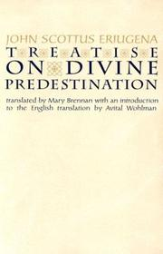 Cover of: Treatise on Divine Predestination (Notre Dame Texts in Medieval Culture, Volume 5)
