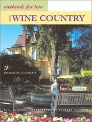 Cover of: Weekends for two in the wine country