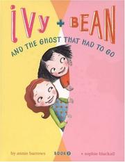 Cover of: Ivy and Bean and the Ghost That Had to Go (Book 2) (Ivy and Bean)
