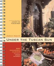 Cover of: Under the Tuscan Sun 2007 Engagement Calendar