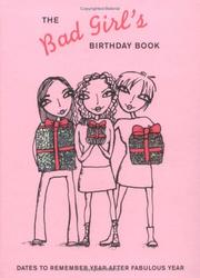Cover of: The Bad Girl's Birthday Book