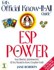 Cover of: How to develop your ESP power