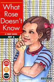 Cover of: What Rose doesn't know