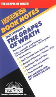 Cover of: John Steinbeck's The Grapes of Wrath