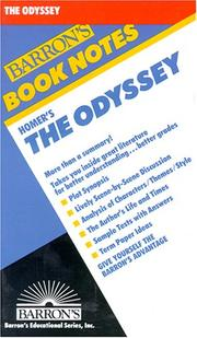 Cover of: Homer's The Odyssey