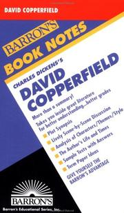 Cover of: David Copperfield |