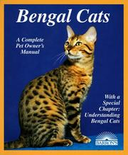 Cover of: Bengal cats | Rice, Dan