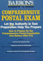 Cover of: How to prepare for the comprehensive postal exam
