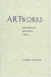 Cover of: Artworks | Robert Stecker