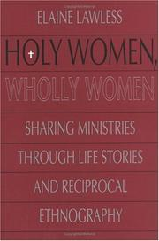 Cover of: Holy women, wholly women