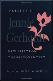 dreisers essay gerhardt jennie new restored text