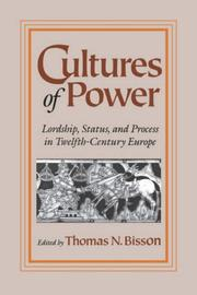 Cover of: Cultures of Power
