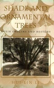 Cover of: Shade and ornamental trees