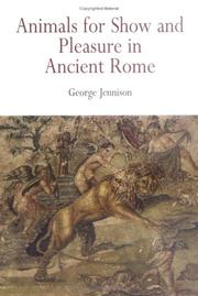 Cover of: Animals For Show And Pleasure In Ancient Rome | George Jennison