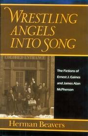 Cover of: Wrestling angels into song