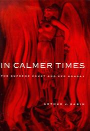 Cover of: In calmer times